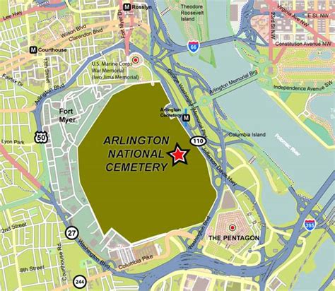 arlington national cemetery map map of arlington national cemetery immaginieuropa