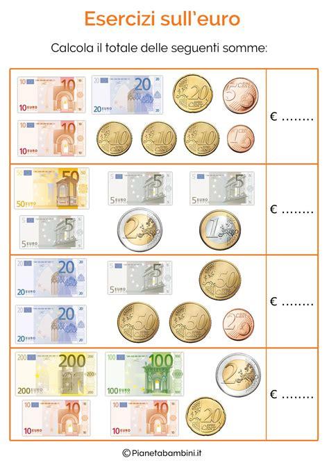 esercizi spagnolo con tutte 8882118606 schede didattiche sull euro per bambini della scuola primaria