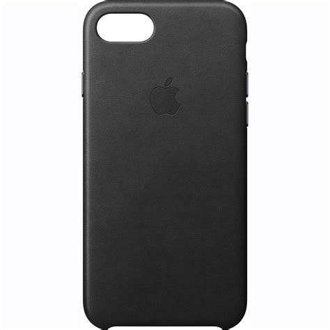 apple iphone 7 leather black mmy52zm a b h photo