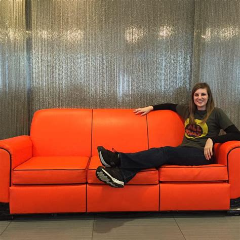 big orange couch snick orange couch 28 images big orange couch on