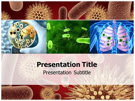 Infectious Disease Powerpoint Templates Infectious Disease Powerpoint Background And Themes Disease Powerpoint Template