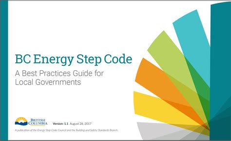 bc energy step code province of columbia