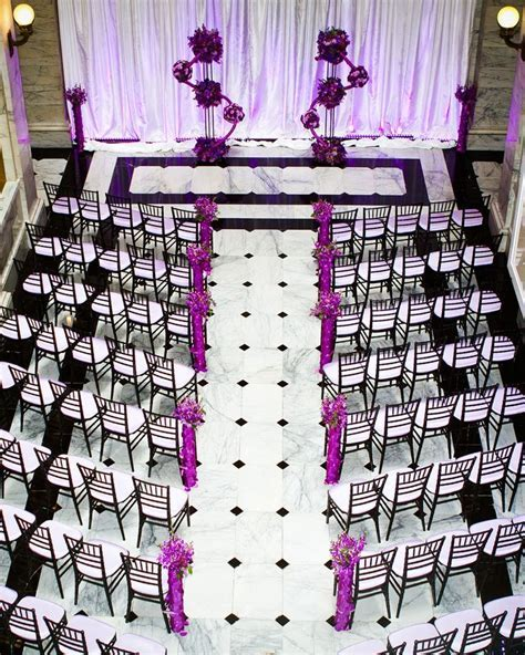 73 best images about Black, White & Purple Wedding on