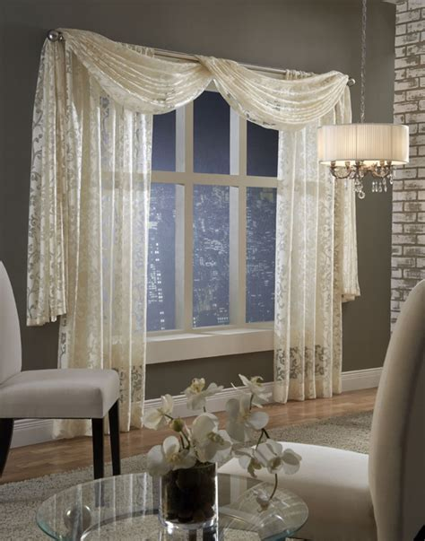 Window Scarves For Large Windows Inspiration Softline Home Fashions 187 2012 187 February