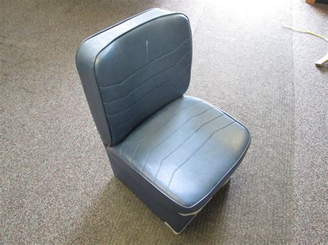 boat jump seat base wise boat jump seat blue vinyl with storage ebay