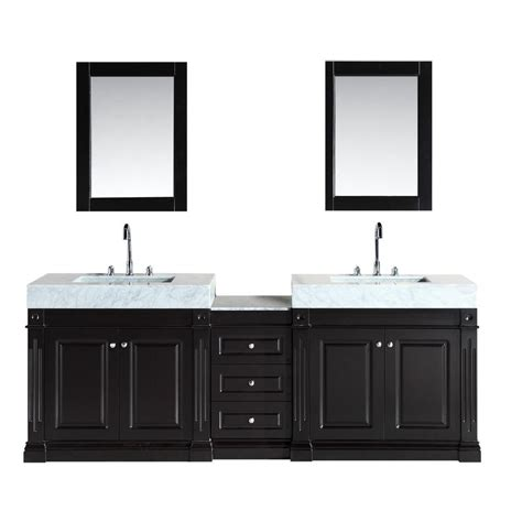 home depot design element vanity design element odyssey 88 in w x 22 in d double vanity
