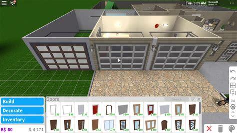 build  secret garage roblox bloxburg