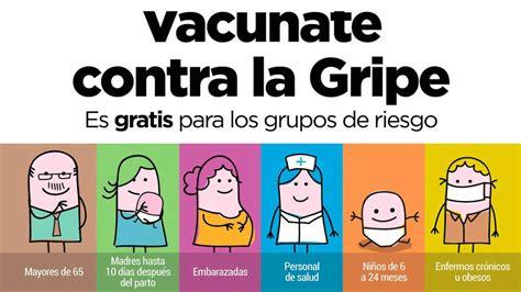 compensar hay vacuna contra la gripe vacuna gripe 2017 2018 grupos recomendados y efectos