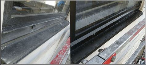 Scrub Aluminium how to clean aluminium window frames and maintain them in a proper way