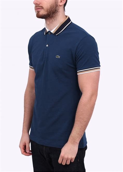Vans Polo Shirt Kaos Collar Lacoste lacoste detailed collar polo shirt navy