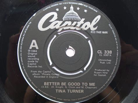 tina turner better be to me tina turner better be to me records lps vinyl and