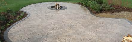 How To Overlay Concrete Patio Michigan Stamped Concrete Decorative Cement And Acid