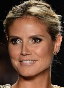 heidi klum and louise redknapp go make up free for charity