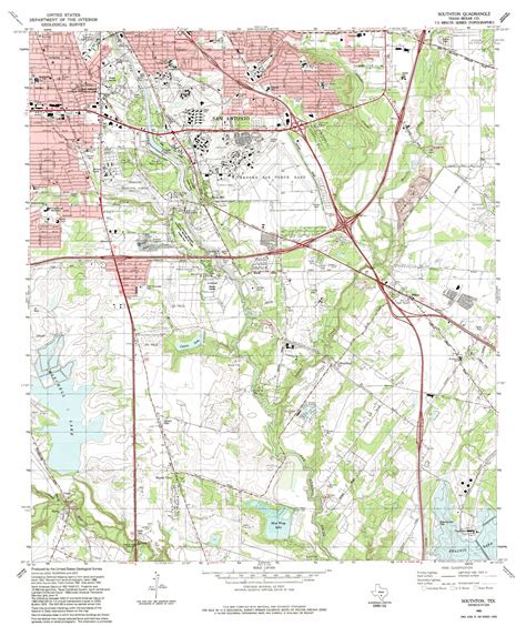 topo map texas southton topographic map tx usgs topo 29098c4