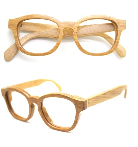 handmade bamboo eyeglasses mjx1103 prescription rx glasses