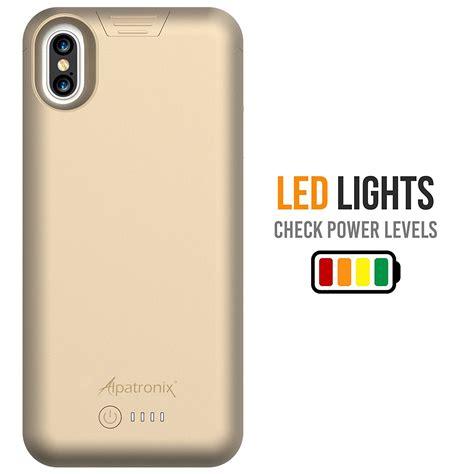 Wireless Battery Iphone 6 Plus 4200 Mah White alpatronix iphone x bataryal箟 k箟l箟f 4200 mah