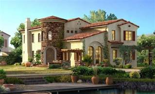 Stylea House Spanish Style House Plans Exotic Design