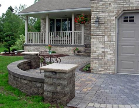Front Patio Designs by Front Yard Patio Courtyard Johnson Patios Design Ideas