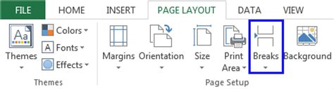 remove page layout lines excel how to insert page breaks in excel remove or hide break lines