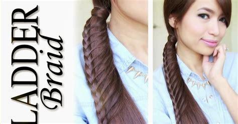 model rambut ekor kuda cara menata rambut panjang membuat kepang rambut ekor
