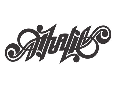sticker tattoo bandung ambigrams for necklaces and tattoo on typography served