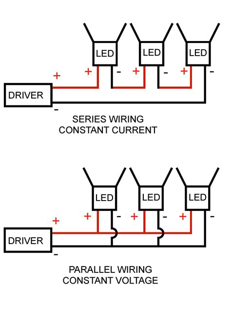 wiring diagram for recessed lights in parallel circuit