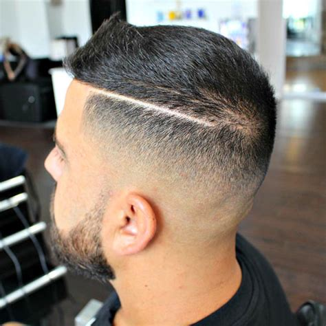 hard part in hair 21 high and tight haircuts men s haircuts hairstyles 2017
