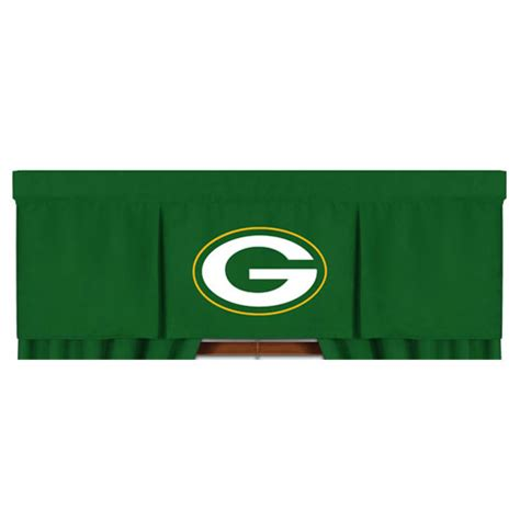 green bay packers window curtains nfl green bay packers valance mvp football window treatment