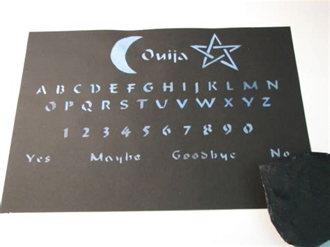 How To Make A Ouija Board Out Of Paper - ouija board by drakenadestroyer on deviantart
