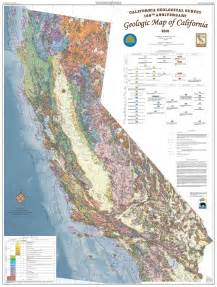 geologic map of california by the california geological