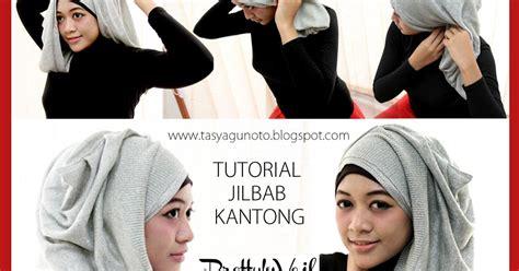 tutorial jilbab keren hijab kantong