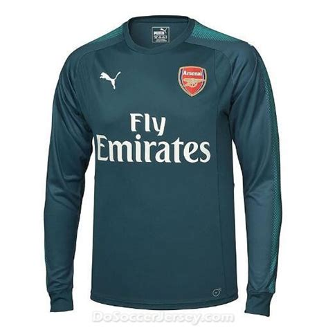 Jersey Arsenal Gk Home 11 12 arsenal 2017 18 home sleeved goalkeeper soccer shirt dosoccerjersey shop