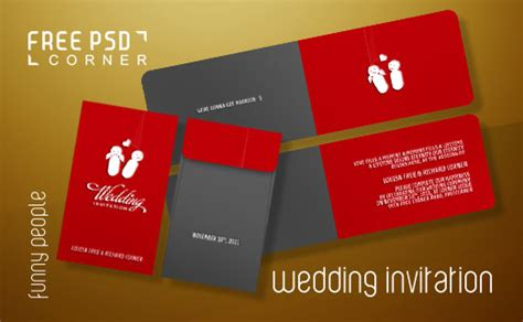 wedding invitation card template psd psd wedding invitation by freepsdcorner on deviantart
