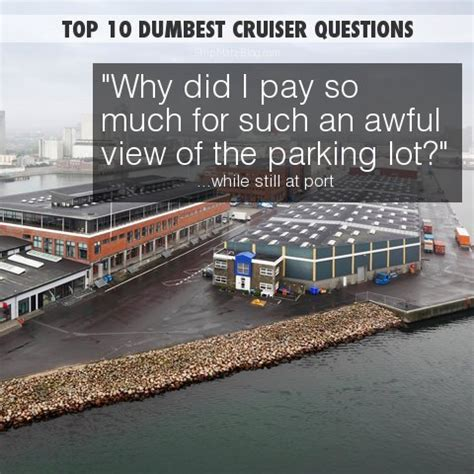 ship questions 10 dumbest questions ever asked on a cruise