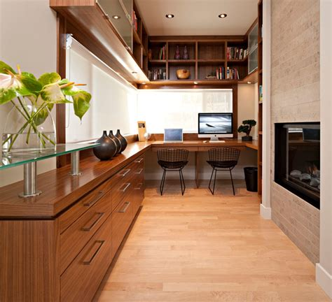 home office interior design houzz residential modern home office calgary by tracy