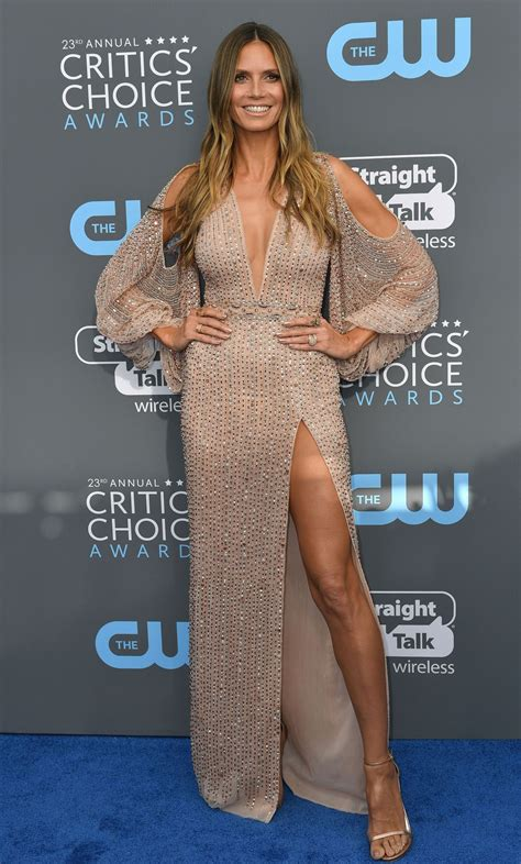Critics Choice Awards 2018 Nominados Heidi Klum 2018 Critics Choice Awards