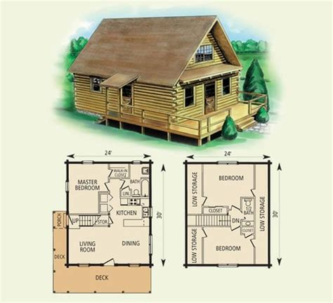 Best Small Cabin Plans by Free Small Cabin Plans