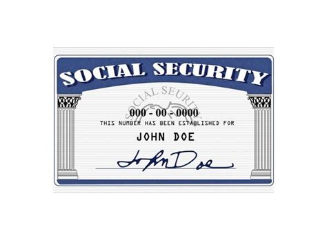 Fake Social Security Card Template Playbestonlinegames Social Security Card Template Generator
