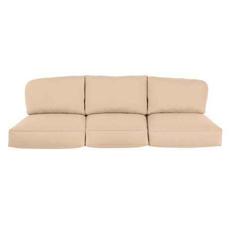 home depot outdoor sofa brown jordan greystone sparrow replacement outdoor sofa