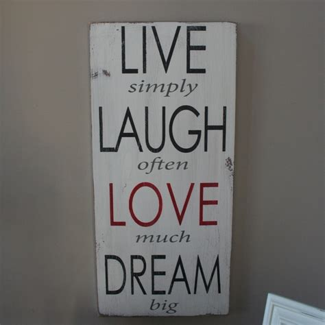 live laugh love wall decor live laugh love dream wall decor diy diy pinterest