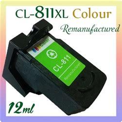 Tinta Canon Cl 811 Colour Compatible Gred A Kw 1 Bergaransi canon cl 811xl colour