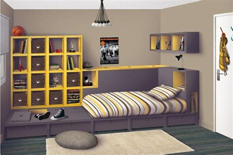 Bien Inspiration Chambre Ado Fille #3: d%C3%A9coration-chambre-fille-ado-d%C3%A9coration-chambre-fille-ado-baskets.jpg
