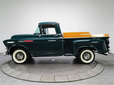1957 chevy stepside pick up 1957 chevrolet 3100 stepside pickup forest green chevy