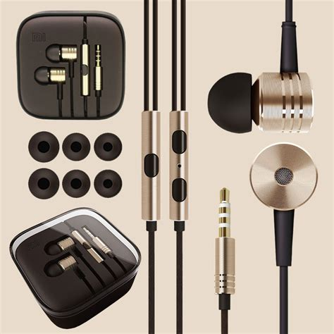 Mi Xiaomi Piston 2 Headphone Xiaomi Mi Piston V2 In Ear Headphones Gold