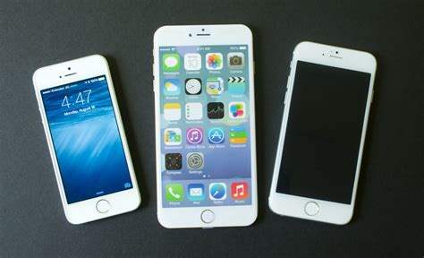 bid iphone iphone 6 vs iphone 5s 5 things to about the big iphone