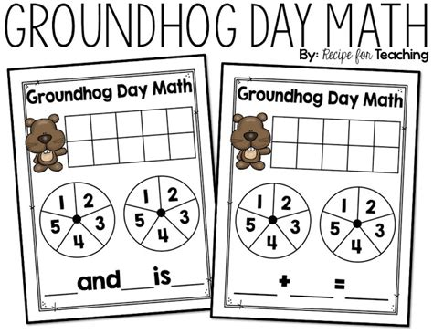 groundhog day meaning for preschoolers groundhog day math recipe for teaching