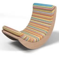 creative modern rocking chair design plushemisphere