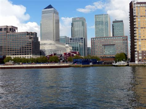 thames river cruise canary wharf file canary wharf from the river thames geograph org uk