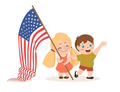 printable children s day banner vector us 4 july independence day lettering children