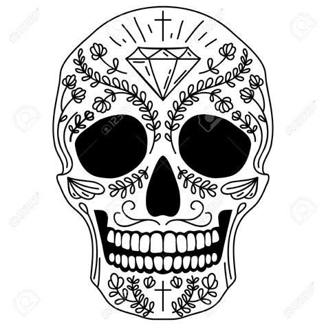 calavera mexicana dibujo resultado de imagen para calavera mexicana vector